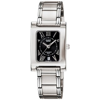 Casio Core BEL100D-1A2V Stainless Steel Black Dial Quartz Watch