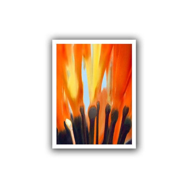 Dean Uhlinger 'Towards the Light' Unwrapped Canvas
