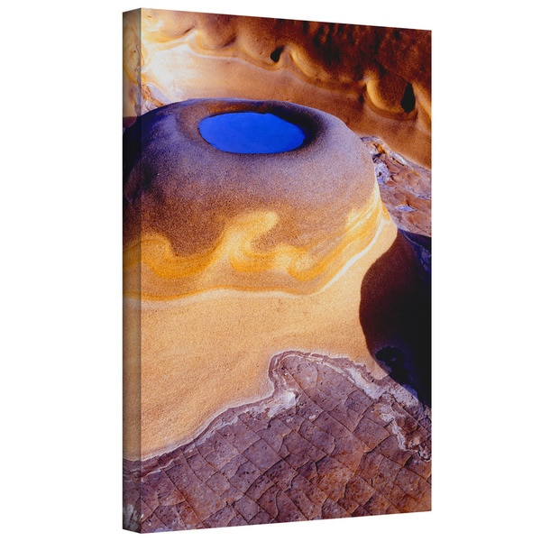 18 by 24 ArtWall Shiela Gosselins Amber Flame Art Appeelz Removable Wall Art Graphic