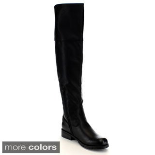 Mark & Maddux Women's 'Don-06' Over Knee-high Boots