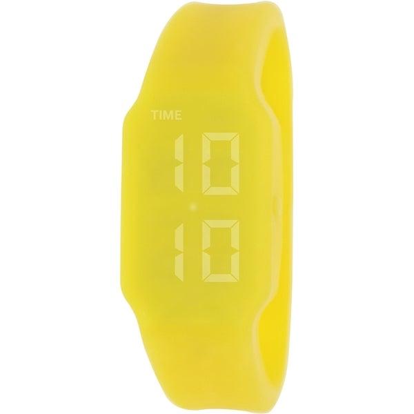 Verb Women's VRB004 Yellow Silicone Digital Watch