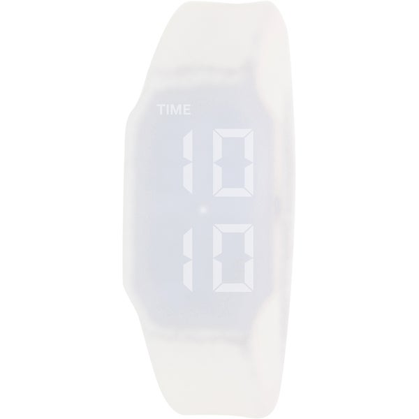 Verb Men's VRB001 White Silicone Digital Dial Watch