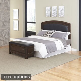Baxton Studio Hirst Light Beige Linen Bed With Bed Bench 16716616 Shopping