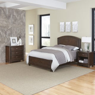 Home Styles Crescent Hill Bed, Night Stand, & Chest