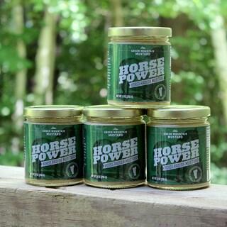 Green Mountain Mustard 9-ounce Horseradish Mustard (Pack of 4)