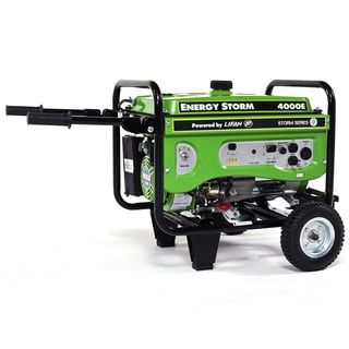 ES4000E-CA 4000-watt 7hp Electric Start Gas Powered Portable Generator CARB Approved