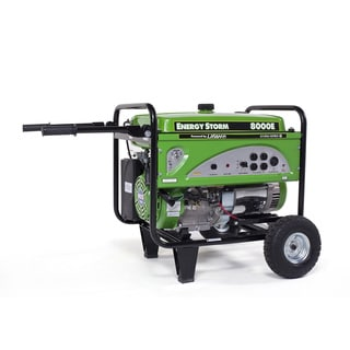ES8000E- CA 8000-watt 15hp Gas Powered Portable Generator with Electric and Recoil Start CARB Approved