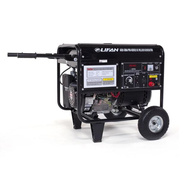 AXQ1-200A Commercial 200 amp DC Arc Welder/4000-watt Generator Combo