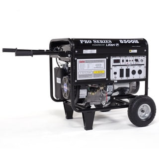LF8500IE 8500-watt Pro Series OSHA Approved Electric / Recoil Start Gasoline Powered Portable Generator