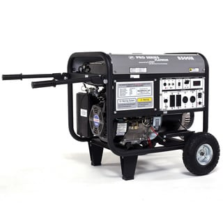 LF8500IEPL 8500-watt Platinum Series low THD Electric / Recoil Start Gasoline Powered Portable Generator