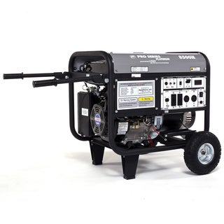 LF8500IEP-CA 8500-watt Platinum Series low THD Electric/ Recoil Start Gasoline Powered Portable Generator CARB Approved
