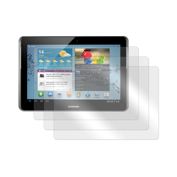 Screen Protector for Samsung Galaxy Tab 2 10.1 in. Tablet- Set of 3