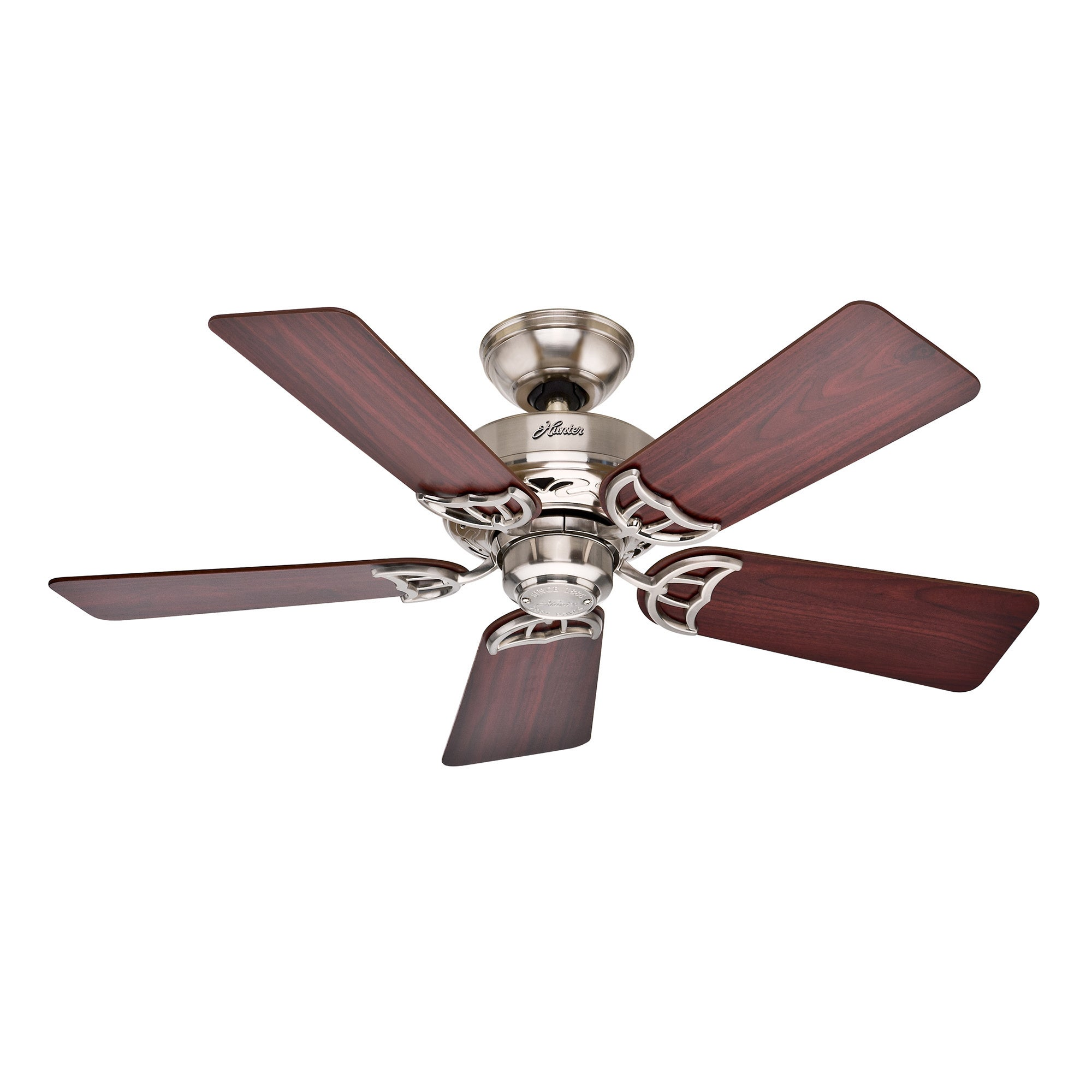 HUNTER FAN Hunter 'Hudson' 42-inch Brushed Nickel/ Cherry/ Maple Ceiling Fan at Sears.com