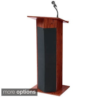 Power Plus Lectern with Mics