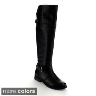 Betani Women's 'Amber-3' Riding Knee-high Boots