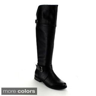 Betani Women's 'Amber-3' Riding Knee-high Boots