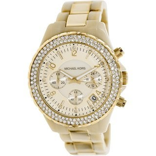 Michael Kors Women's MK5417 Goldtone Quartz Watch
