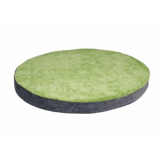BowHaus 19.5-inch Green Apple/ Steel Grey Orthopedic Pet Bed