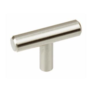 GlideRite 2-inch Solid Stainless Steel Finish Cabinet Bar Knob (Pack of 10)