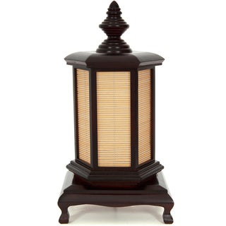 18-inch Walnut Puggi Lamp (China)