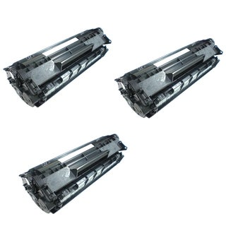 HP CF283A Black High Yield Remanufactured Toner Cartridges (Pack Of 3)