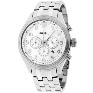 Fossil Men's BQ1028 Asher Chronograph Stainless Steel Watch