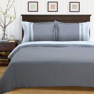 Luxor Treasures Emma Wrinkle Resistant 3-piece Duvet Cover Set