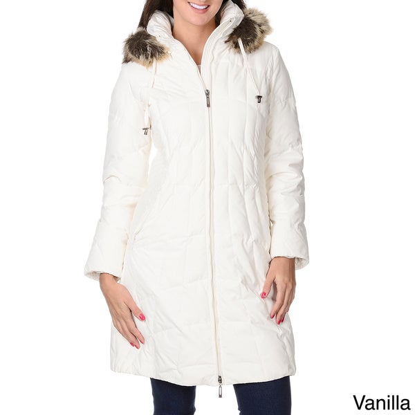 Women's 'Geneva' Down Short Coat 13712633