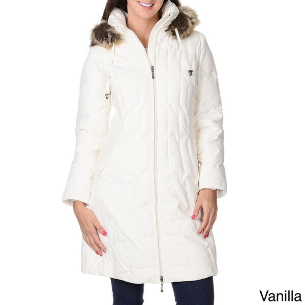 Women's 'Geneva' Down Short Coat 13712632
