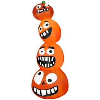 Funny Pumpkin Stack