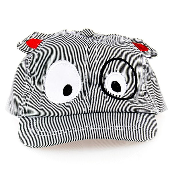 Boys' Grey Puppy Hat