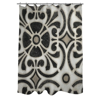 Thumbprintz Moroccan Symbol II Shower Curtain