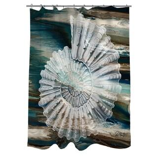 Thumbprintz Coastal Span III Shower Curtain