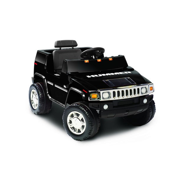 Kid Motorz 6V Black H2 Ride-on Hummer