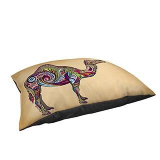 Thumbprintz Camel Large Rectangle Pet Bed