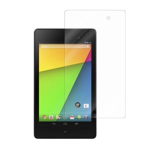 roocase Ultra HD Plus Screen Protector Clear Film (Bubble Free) for Google Nexus 7 2013 FHD (2nd Gen)