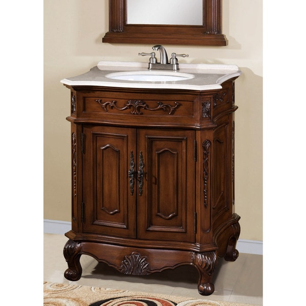 ica furniture veronica single sink bathroom vanity overstock
