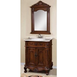 Veronica 2-piece Single Sink Bathroom Vanity with Mirror