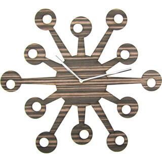 Laser-cut Owl Nest Clock