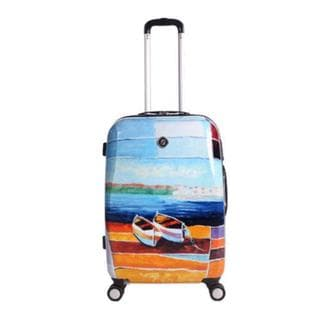 Neo Cover Caribbean Relaxation 29-inch Hardside Spinner Suitcase