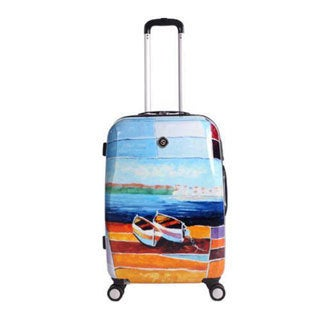 Neo Cover Hardside Luggage 29in Spinner Caribbean Relaxation