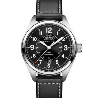 Hamilton Men's H70505733 Khaki Field Black Automatic Watch