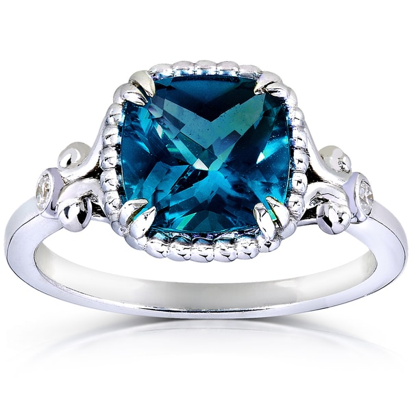 Diamond accent rings reanimators