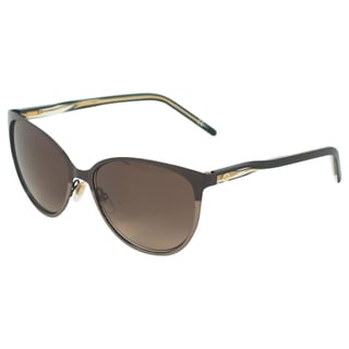 Gucci Women's GG 4255/S 4SLJ6 Brown Cateye Sunglasses