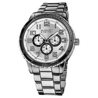 August Steiner Men's Quartz Multifunction Bracelet Watch