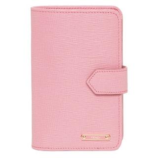 Fendi Crayons Light Pink Bi Fold Wallet