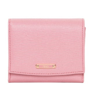 Fendi Small Crayons Light Pink/ Fuchsia Flap Wallet