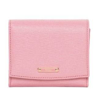 Fendi Small Crayons Light Pink/ Fuchsia Flap Wallet