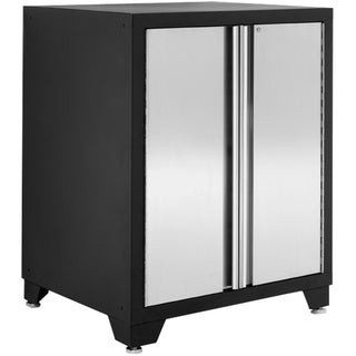 NewAge Products Pro Stainless Steel Two Door Base Cabinet