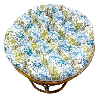 Celebration Printed Teal Multi Papasan Cushion